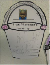 I can fill someone's bucket by...